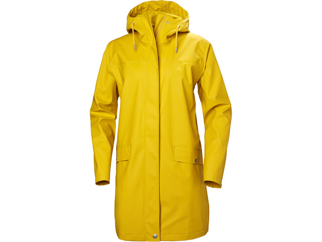 Helly Hansen Moss Abrigo Impermeable Mujer, essential yellow